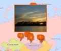 Озера Новосибирска и Сибирского ФО