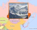 Горы Новосибирска и Сибирского ФО