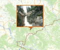 Каскад водопадов реки Шинок
