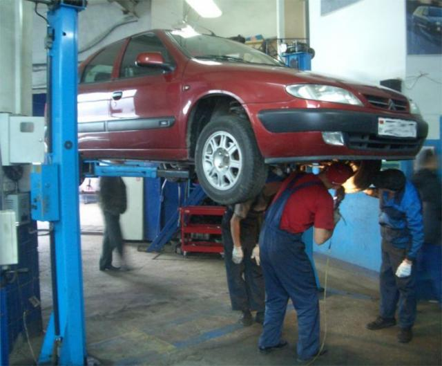 Ремонт автомобиля в Новосибирске осуществляют компании, представленные в интернет-каталоге