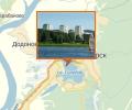 Городское озеро в Железногорске