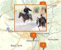 Где кататься на лошадях в Новосибирске?