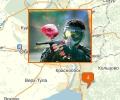 Где поиграть в пейнтбол в Новосибирске?