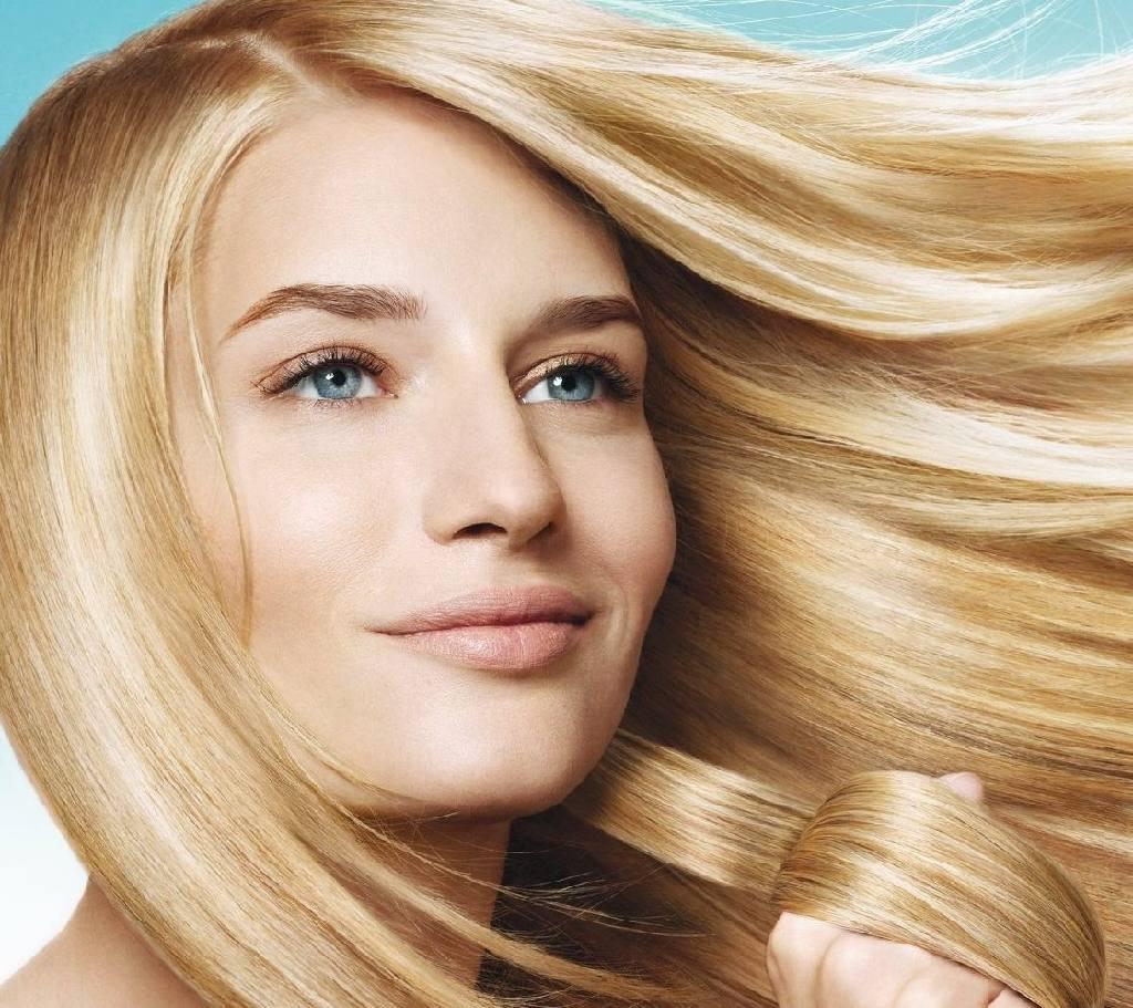 Как обесцвеченные волосы сделать гладкими