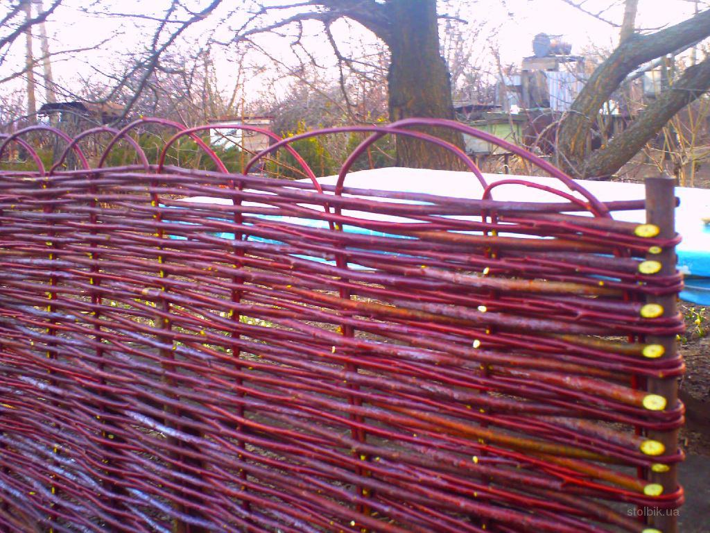 Плетение из прутьев фото