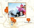 Где кататься на тюбингах в Омске?