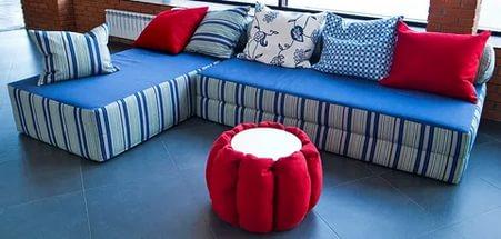 Где можно купить бескаркасную мебель в Омске?