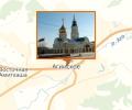 Свято-Никольский храм в поселке Агинское
