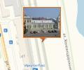 Здание железнодорожного вокзала Иркутска